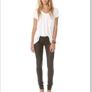 """Habitual """"Alice"""" Coated Skinny Stretch Jeans NWOT"""